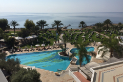 View from Athena Royal Beach Hotel Paphos